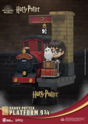 Diorama Stage-099-Harry Potter-Platform 9 3/4 Close Box