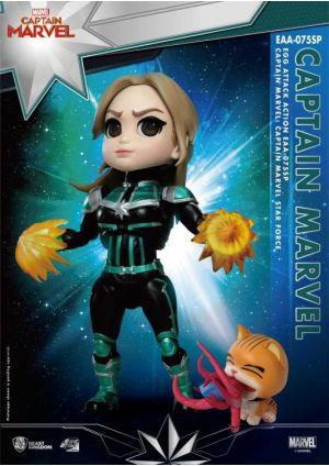 Captain Marvel - Carol Danvers Star Force Version Egg Attack Action