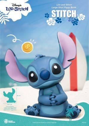 Lilo and Stitch Large Vinyl Piggy Bank: Stitch