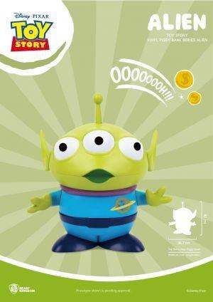 Toy Story Large Vinyl Piggy Bank: Alien