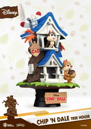 D-STAGE Chip 'n Dale Tree House