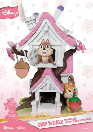 D-Stage CHIP 'N' DALE TREEHOUSE CHERRY BLOSSOM VERSION