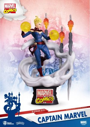D-Stage Marvel Comics-Captain Marvel
