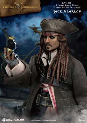 Pirates of the Caribbean:Cap Jack Sparrow Dynamic 8ction Heroes