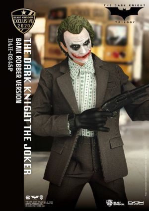 The Dark knight  The Joker Bank Robber Version