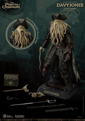 DAH-029 Pirates of the Caribbean: At World's End Davy Jones