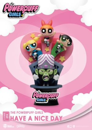 Diorama Stage-094-The Powerpuff Girls-Have a Nice Day Close Box