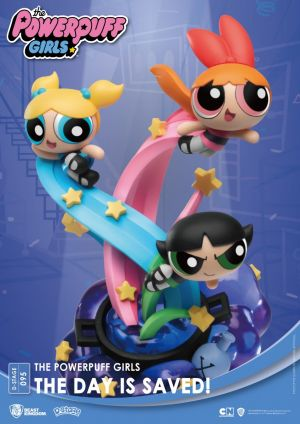 Diorama Stage-095-The Powerpuff Girls-The Day Is Saved