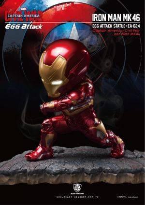 EA-024 Captain America: Civil War Iron Man MK46 Statue