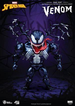 Marvel Comics Egg Attack Action Figure Venom