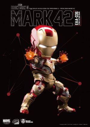 Marvel Iron Man 3: Egg Attack Action - Age of Ultron - Iron Man MK42 Mark 42