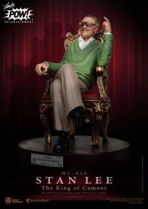 MC-030 Stan Lee Master Craft The King Of Cameos
