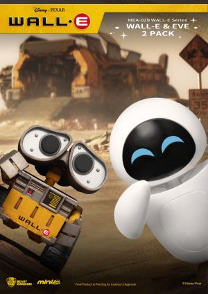 MEA-029 WALL-E Series WALL-E & EVE 2 PACK