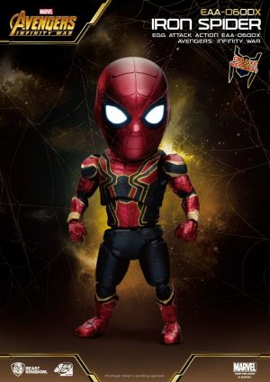 Avengers: Infinity War Egg Attack Action Figure Iron Spider Deluxe Version
