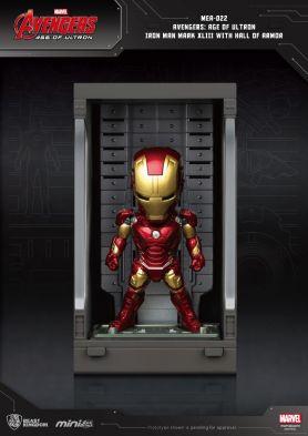 Avengers: Age of Ultron Iron Man Mark XLIII with Hall of Armor