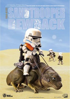 EAA-014S Star Wars: A New Hope Dewback & Imperial Sandtrooper