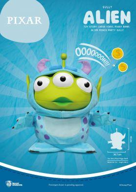 VPB-009-Toy Story Large Vinyl Piggy Bank: Alien Remix Party Blind Box
