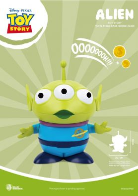 Toy Story Large Vinyl Piggy Bank: Alien