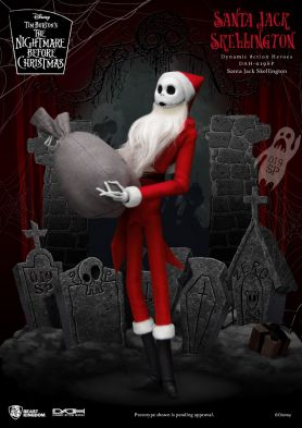 The Nightmare Before Christmas  Santa Jack Skellington