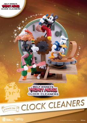 D-Stage -046-CLOCK CLEANERS