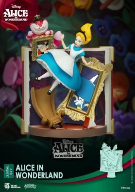 Diorama Stage-077-Story Book Series-Alice in Wonderland