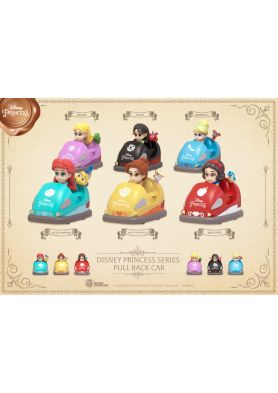 Disney Princess Series Pull back car set