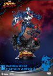 Maximum Venom-Captain America