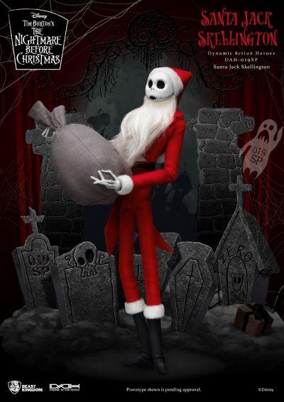 The Nightmare Before Christmas  Santa Jack Skellington