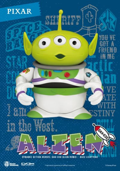 Alien Remix Buzz Lightyear