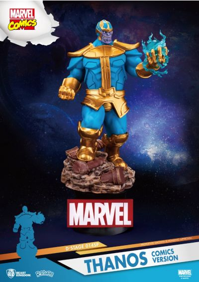 Diorama Stage- Marvel Comics-Thanos comics version