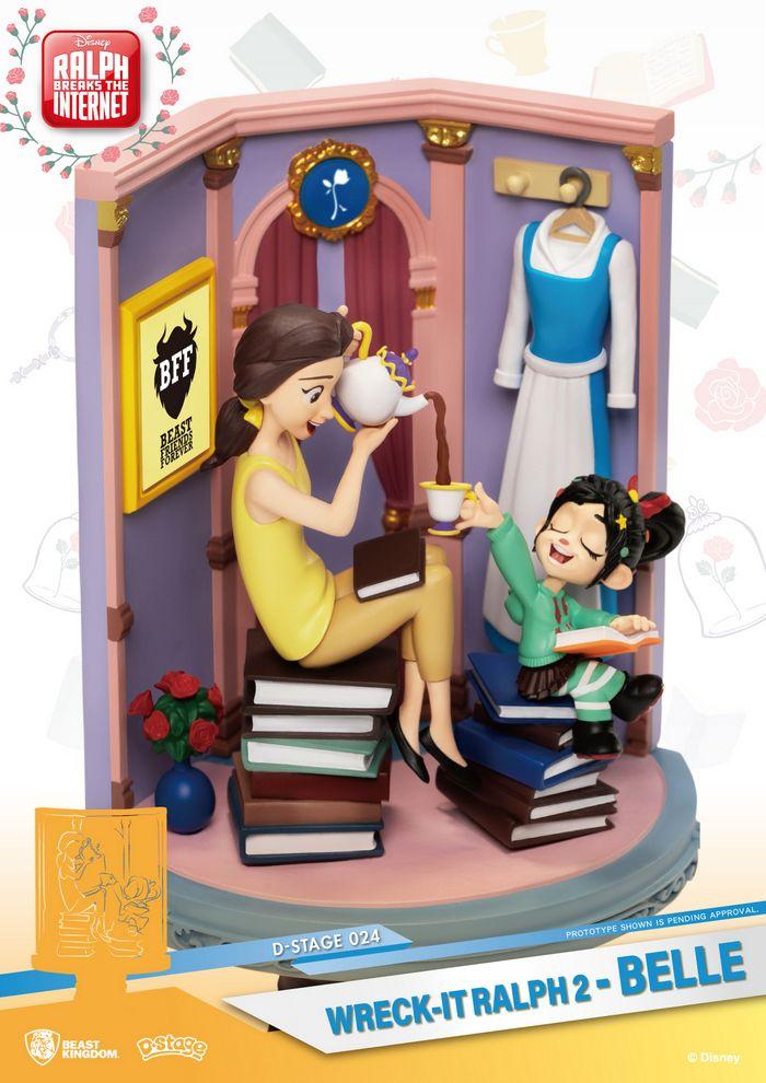 Dream Select Beast Kingdom D-Stage DS-024 Disney Wreck it Ralph 2 Belle
