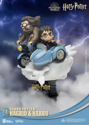 Diorama Stage-098-Harry Potter-Hagrid and Harry Close Box
