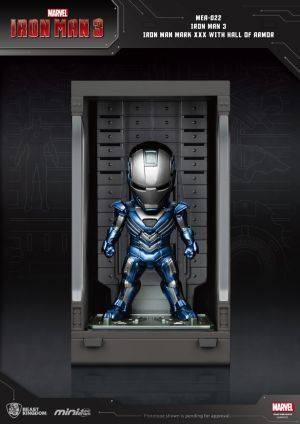 Iron Man 3 Iron Man Mark XXX with Hall of Armor