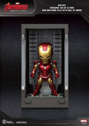 Avengers: Age of Ultron Iron Man Mark XLIII with Hall of Armor