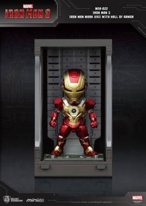 Iron Man 3 Iron Man Mark XVII with Hall of Armor