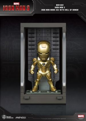Iron Man 3 Iron Man Mark XXI with Hall of Armor