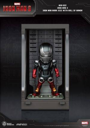 Iron Man 3 Iron Man Mark XXII with Hall of Armor