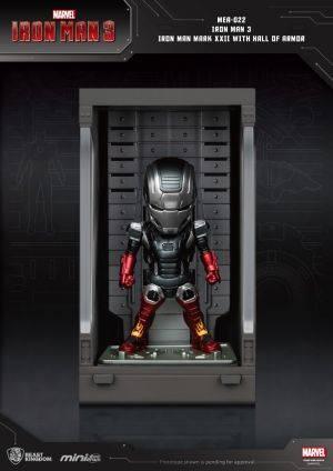 Iron Man 3 Iron Man Mark XXII with Hall of Armor