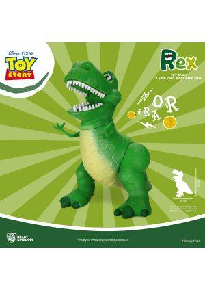 Toy Story Large Vinyl Piggy Bank: Rex