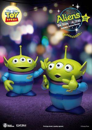 Toy Story Aliens Twin pack Dynamic 8ction Heroes