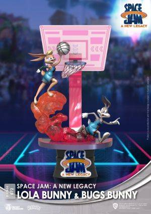 Diorama Stage-072-Space Jam: A New Legacy -Lola Bunny & Bugs Bunny