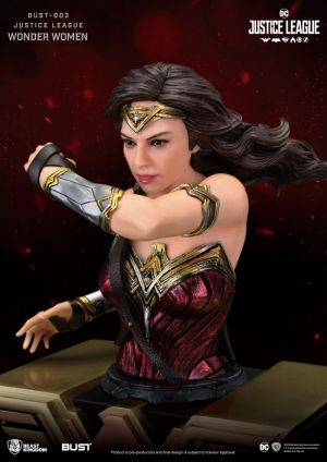 BUST SERIES Justice League WONDER WOMAN