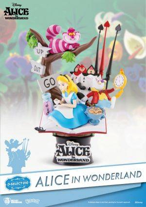 Disney Diorama Stage - Alice In Wonderland Figure