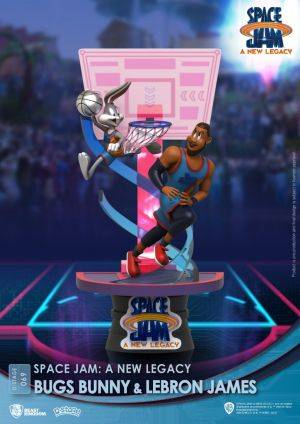 Diorama Stage-069-Space Jam: A New Legacy-Bugs Bunny & Lebron James