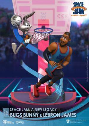Diorama Stage-069-Space Jam: A New Legacy-Bugs Bunny & Lebron James Close Box