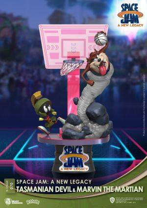 Diorama Stage-070-Space Jam: A New Legacy-Tasmanian Devil & Marvin The Martian