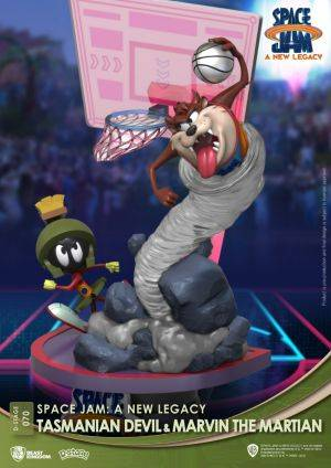 Diorama Stage-070-Space Jam: A New Legacy-Tasmanian Devil & Marvin The Martian Close Box