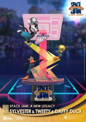 Diorama Stage-071-Space Jam: A New Legacy -Sylvester & Tweety & Daffy Duck