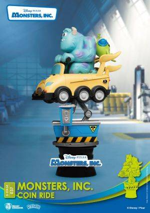 Diorama Stage Monsters, Inc. Coin Ride