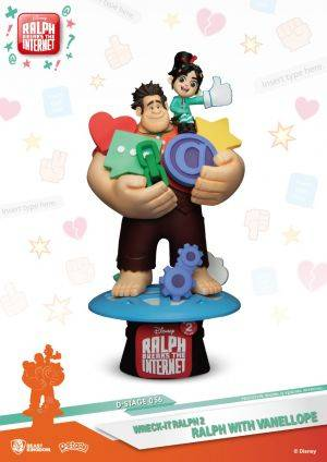 D-STAGE WRECK IT RALPH 2 RALPH WITH VANELLOPE